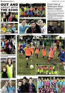 The Echo - Rathcoole Boys Street Leagues 2016
