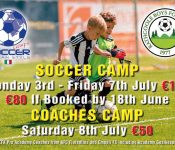 Italian Soccer Camp - Rathcoole Boys