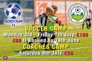 Italian Soccer Camp - Rathcoole Boys