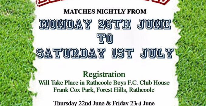 Rathcoole Boys Street Leagues 2017